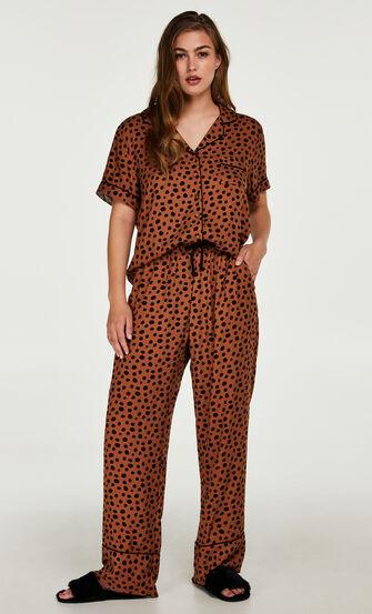 Pyjamahose, Braun