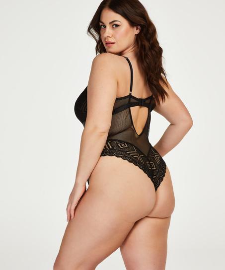 Body Jerrine I AM Danielle, Schwarz