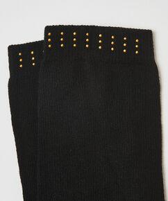 2 Paar Baumwollsocken, Schwarz