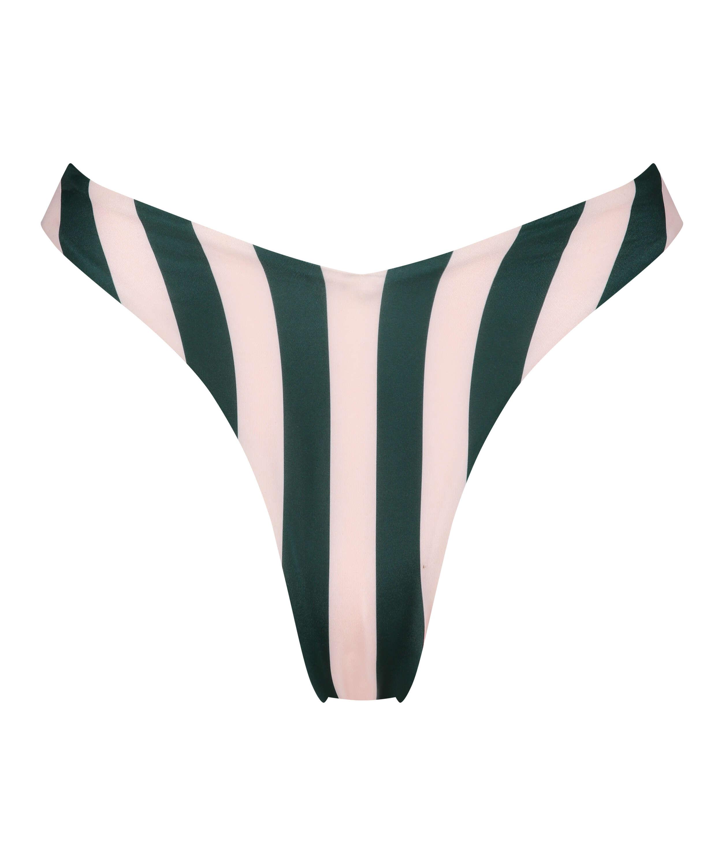 Hoch geschnittener Bikini-Slip Santa Rosa, grün, main