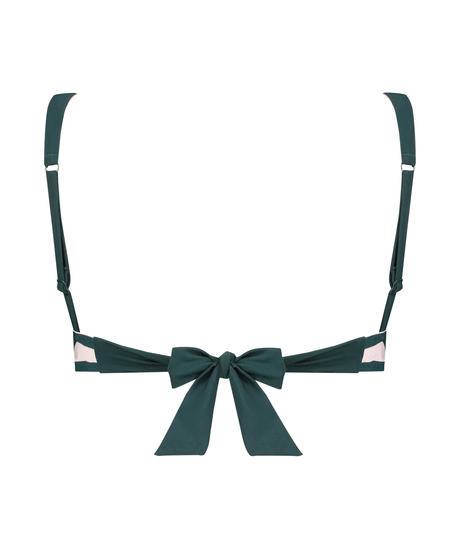 Triangel-Bikini-Oberteil Pinewood, grün, main