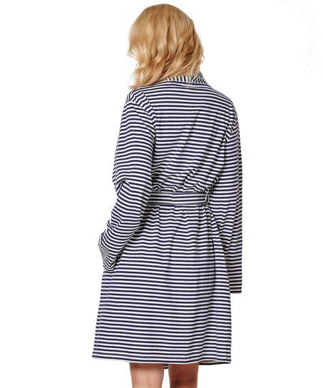 Bathrobe Jersey Robe, Blau