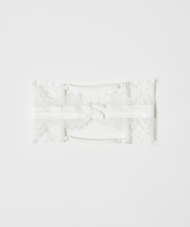 Strumpfband Noir, Weiß, main