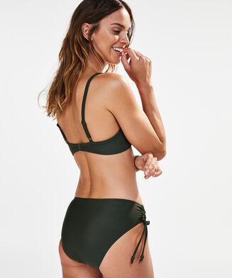 Hoher Rio-Bikinislip Amanda Queen, grün