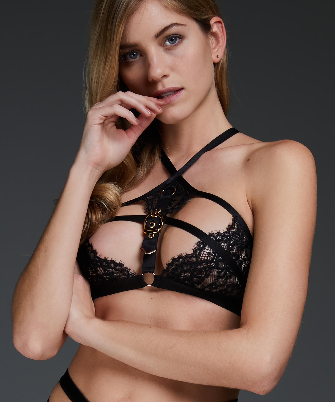 Bralette Ivy, Schwarz, main