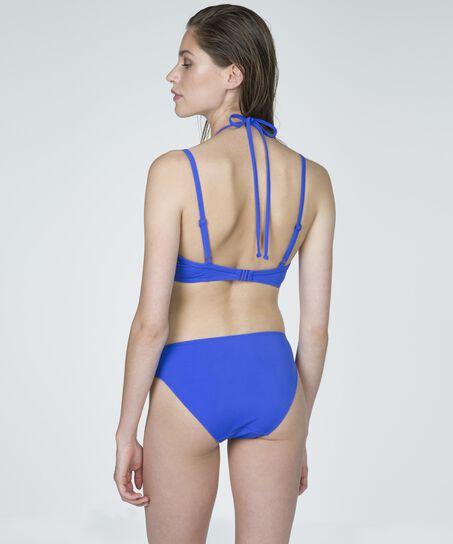 Bikinislip, Blau