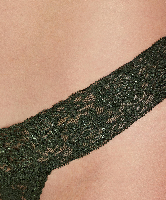 String Floral Spitze, grün, main