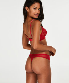 Unwattierter Bügel-BH Latrice, Rot