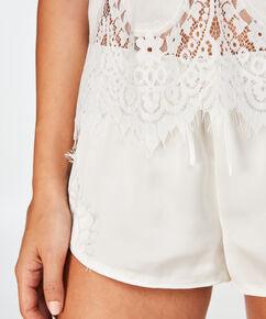 Pyjamaset Bridal, Weiß