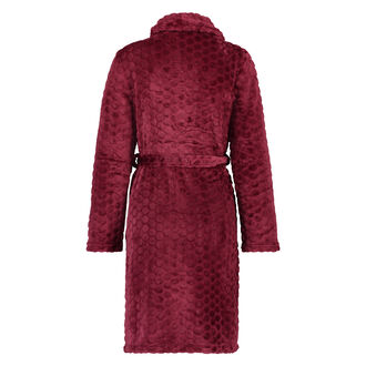 Bademantel Fleece, Rot