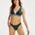 String-Bikini-Slip Pinewood, grün