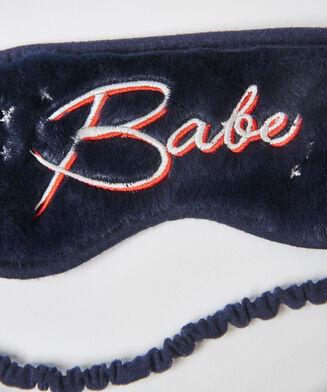 Schlafmaske Babe, Blau