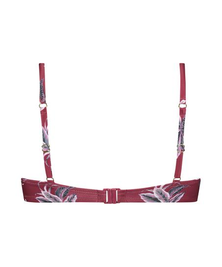 Vorgeformtes Bügel-Bikinitop Tropic Glam, Rot