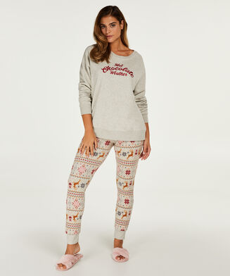 Leggings Micro Fleece, Teint