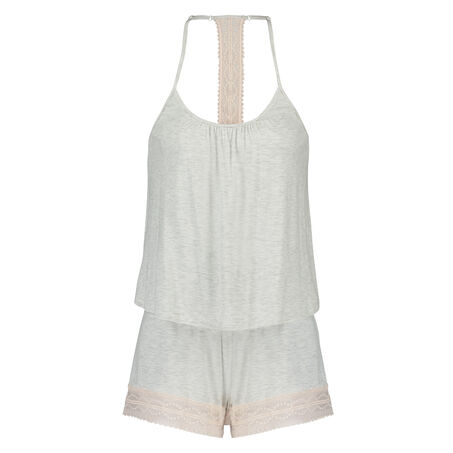Pyjamaset Short, Grau