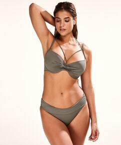 Foldover Bikinislip Sunset Dream, grün