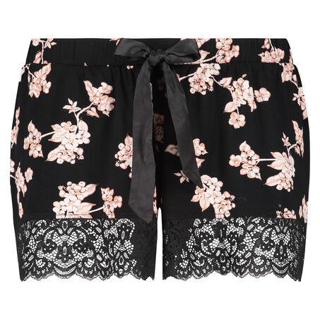 Shorts Jersey, Schwarz