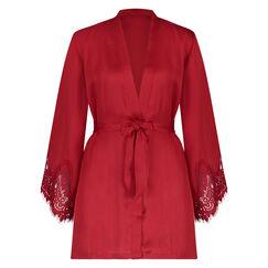 Kimono Lace Satin, Rot