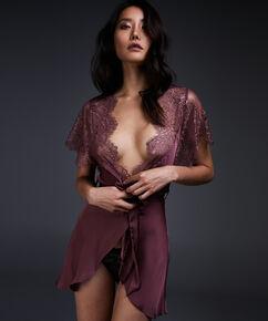Kimono Cap Sleeve, Rose