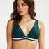 Triangel-Bikini-Oberteil Pinewood, grün