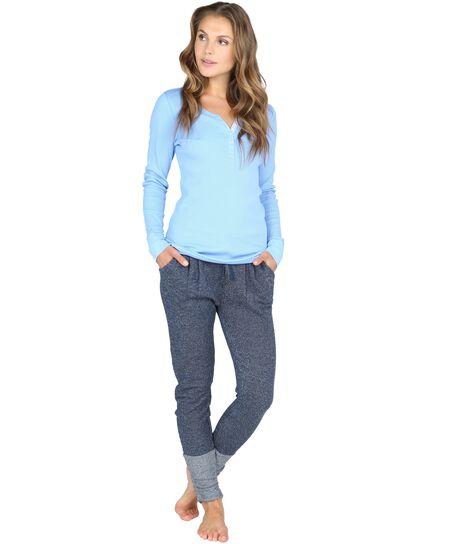 Pyjama pants Cheri, Blau