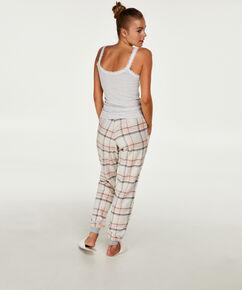 Pyjamahose Check, Rose