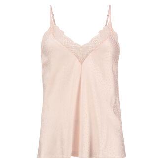 Satin-Top Lace, Rose