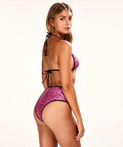 Hoher frecher Bikini-Slip Haze, Rose