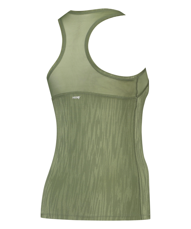 HKMX Sport slim fit tank top, grün, main