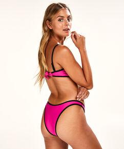 Hoch ausgeschnittener Bikini-Slip Haze, Rose