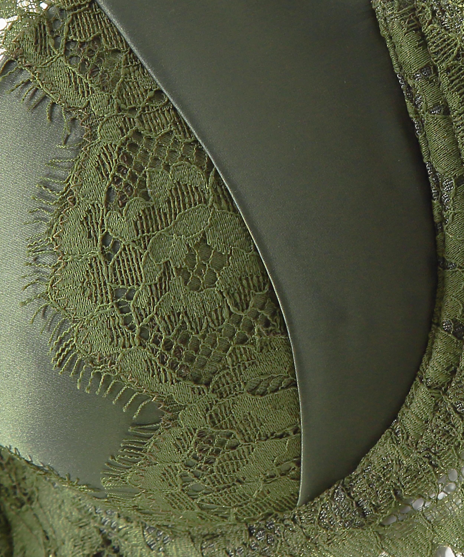 Vorgeformter Bügel-BH Hannako, grün, main