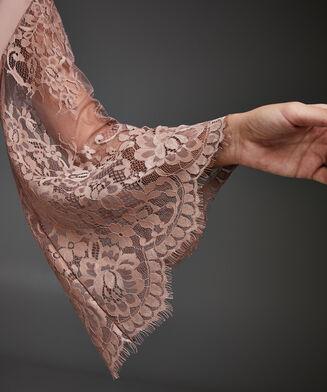 Kimono Satin Lace, Rose