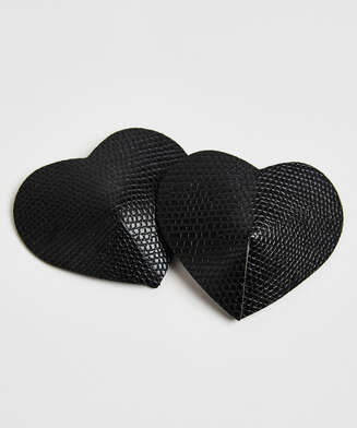 Nipple Covers Private Snake, Schwarz