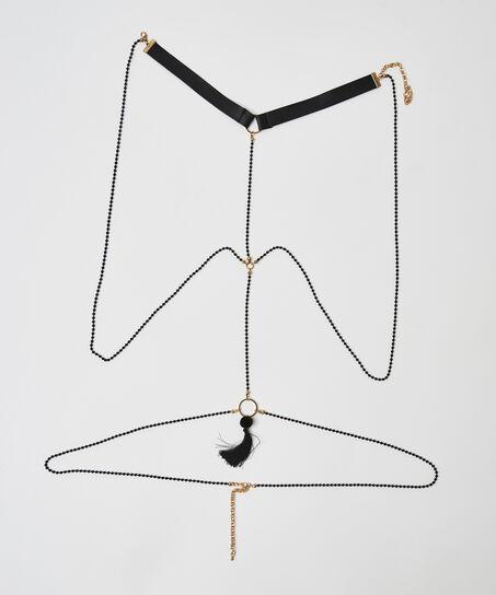 Private Body Chain, Grau