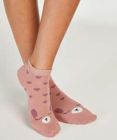 2 Paar Socken, Rose
