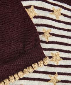 2 Paar Baumwollsocken, Rot