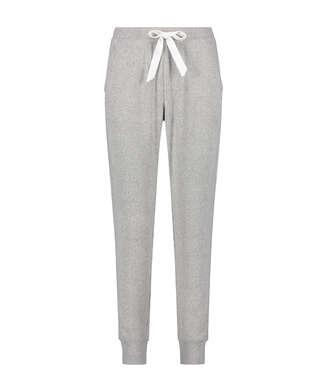Tall-Pyjamahose Brushed Rib, Grau