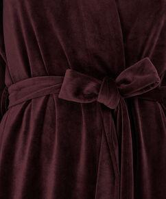 Bademantel Velvet, Rot