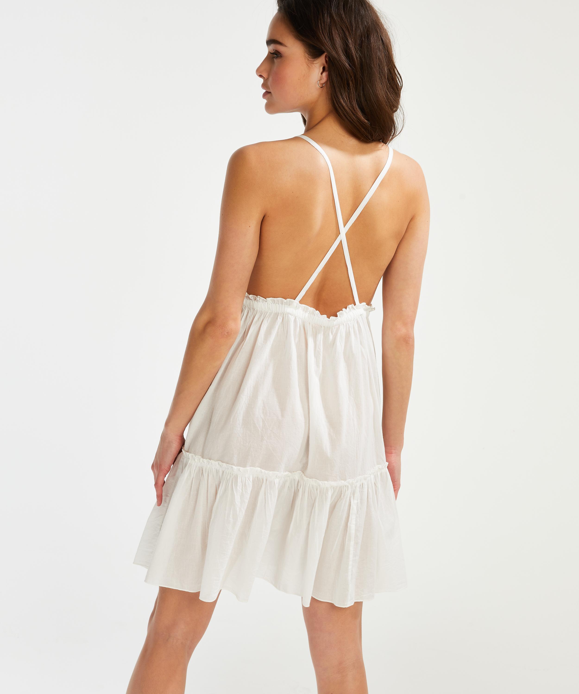 Strandkleid Tiered, Weiß, main