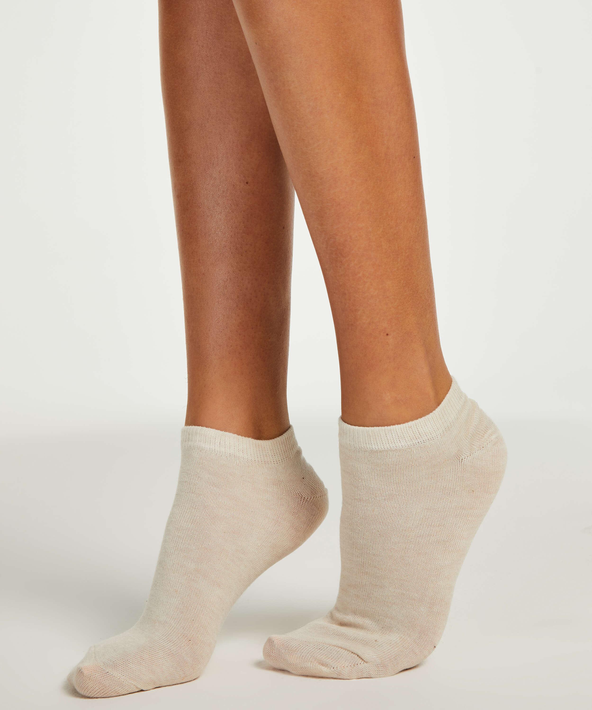 2 Paar Socken, Beige, main