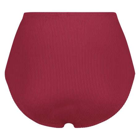 Hohes Bikinihöschen Golden Rings, Rot