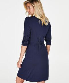 Bademantel Modal Lace, Blau