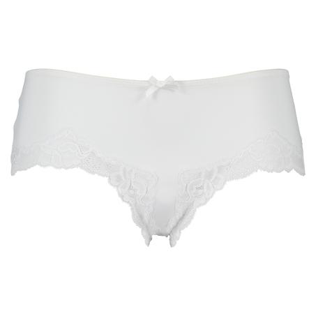 Slip Secret Lace, Weiß