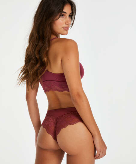 Brazilian Shorts Abigail, Rot