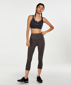 HKMX High-waisted Capri Level 2, Grau