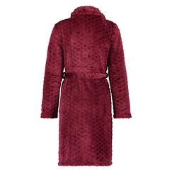 Bademantel Fleece, Rot