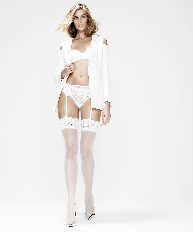 Stockings 15 Denier Lace, Weiß, main