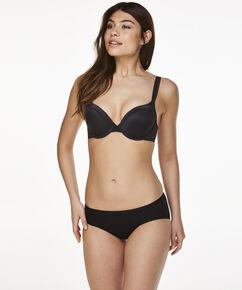 Superslip-Rio Bikini baumwolle, Schwarz