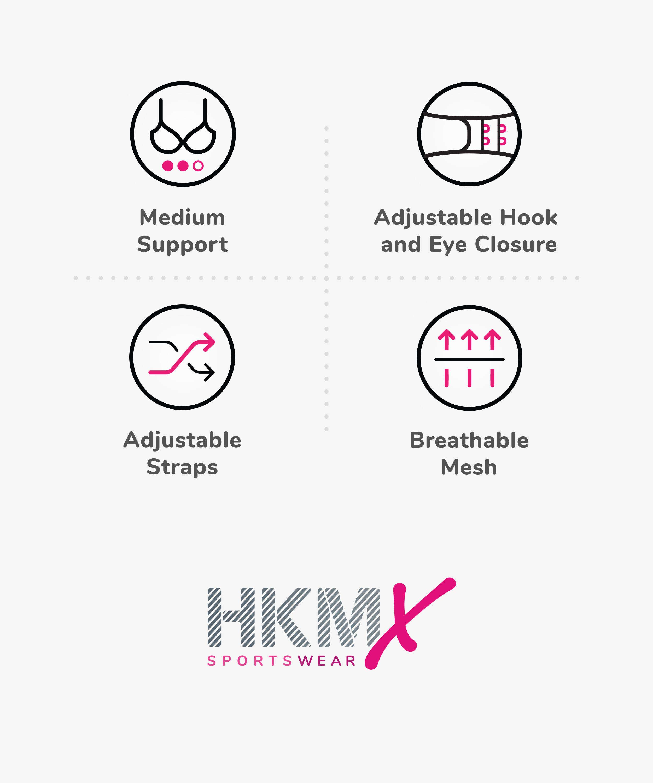 HKMX Sport-BH The All Star Level 2, Schwarz, main