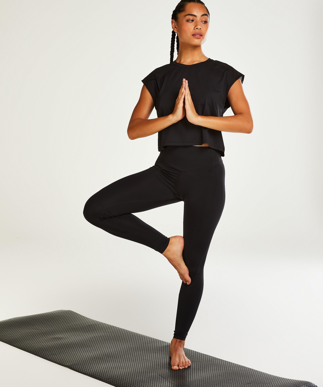 HKMX Make Me Zen High Waisted Legging , Schwarz, main